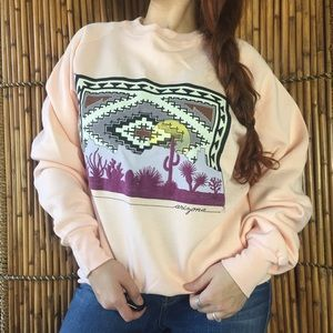Fruit of the Loom vintage sweatshirt arizona